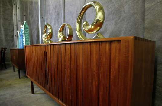 Houstonians have long embraced sleek sexy mid century for Mid century modern furniture houston