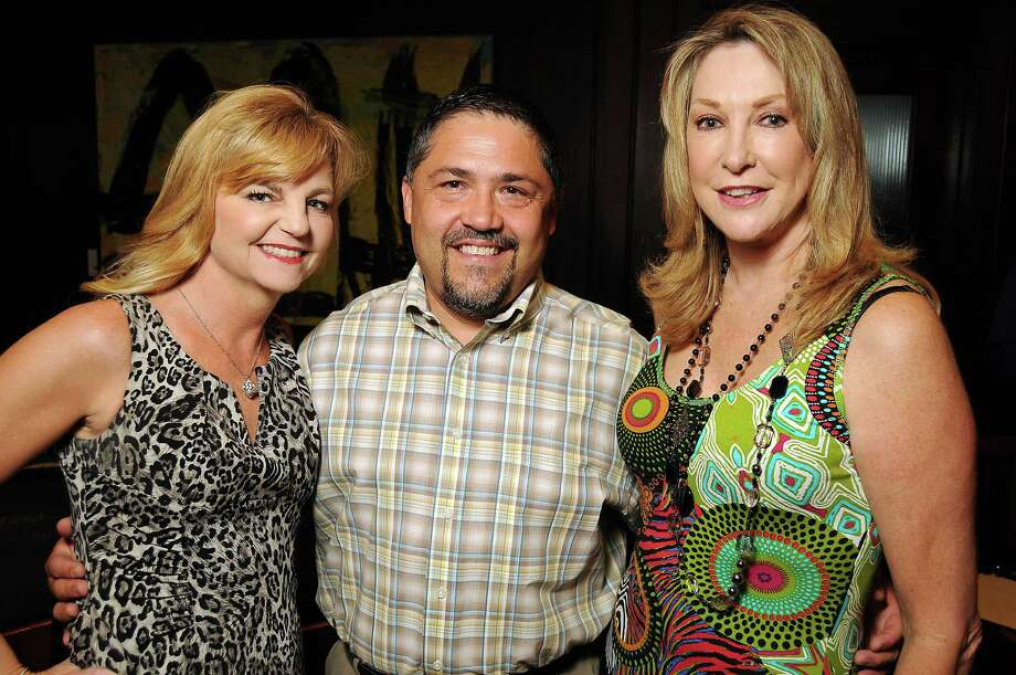 Kim Padgett, from left, Bruce Padilla and Hershey Grace Photo: Dave Rossman / © 2012 Dave Rossman