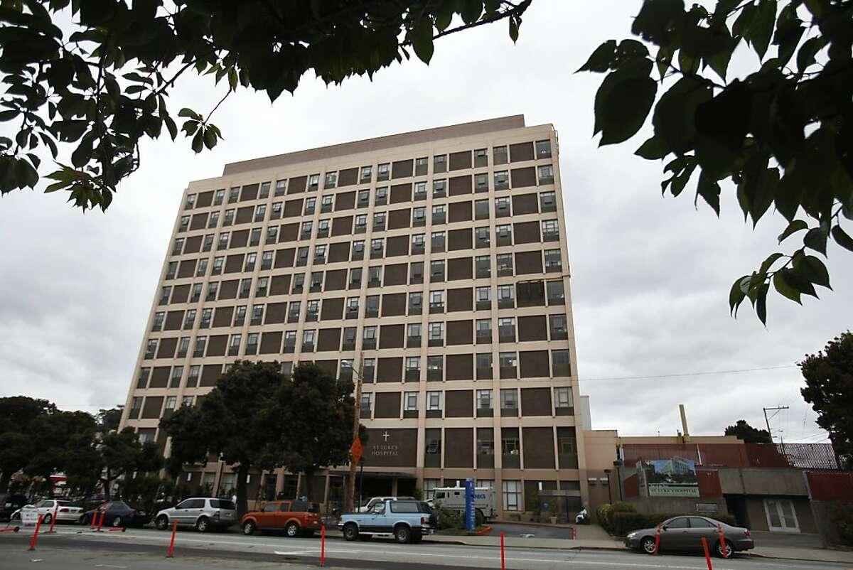 St. Luke's Hospital is seen on Tuesday, July 17, 2012 in San Francisco, Calif.