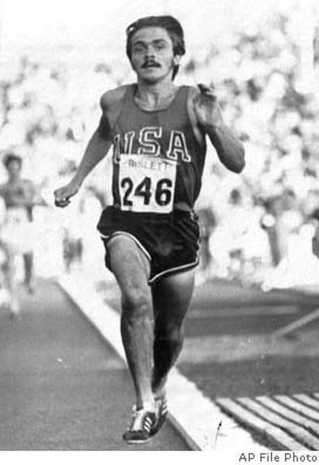 "ADVANCE FOR WEEKEND EDITION, MAY 27-28 -- FILE -- Steve Prefontaine wins the 3000 meter event with a time of 7.44.2. in Oslo, Norway, in this Aug 4, 1972 photo. Prefontaine never won an Olympic medal or set a world record, but through books, movies and endless stories, the long-haired, mustachioed ""Pre"" is more popular than ever. (AP Photo/file) Ran on: 06-18-2004  Steve Prefontaine would have relished running a double Saturday on his home track in Eugene, Ore."