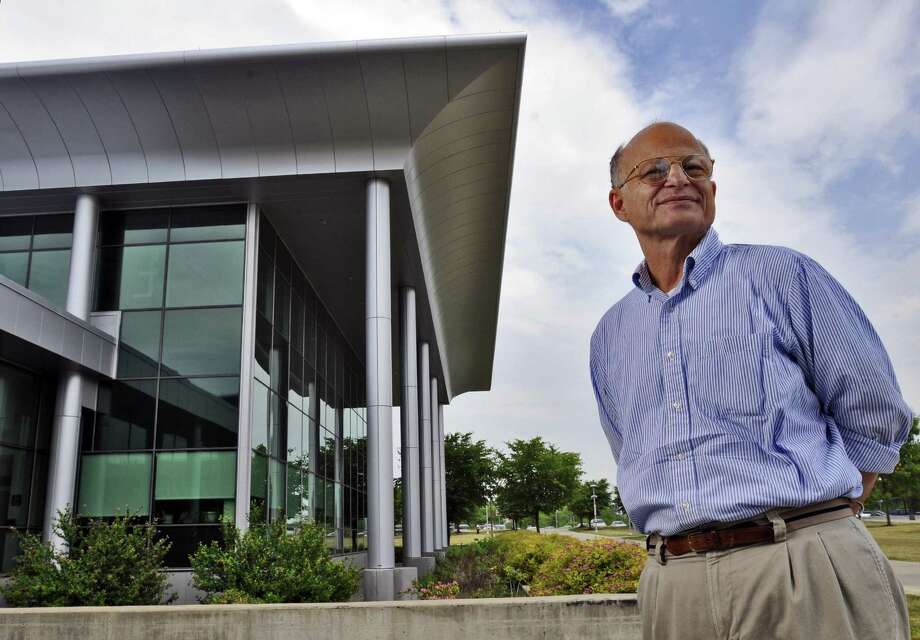 Professor Paul Agris stands outside of the LIfe Sciences building at UAlbany, where he will be Director of the RNA Institute in Albany, NY, photographed on Tuesday  June 1, 2010. FOR CATHLEEN CROWLEY STORY. ( Philip Kamrass / Times Union) Photo: PHILIP KAMRASS / 00008961A