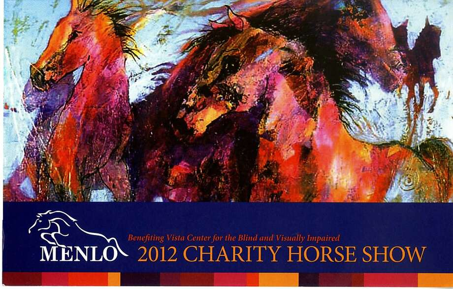 Menlo 2012 Charity Horse Show Benefiting Vista Center for the Blind and Visually Impaired Friday, August 10, 2012 Dinner and Live Silent Auction Menlo Circus Club. 190 Park Lane, Atherton