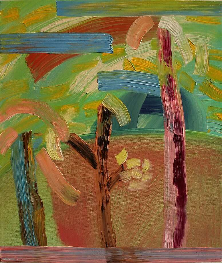 """""""Windy"""" (2012) oil on linen by Sara Bright Photo: Unknown"""