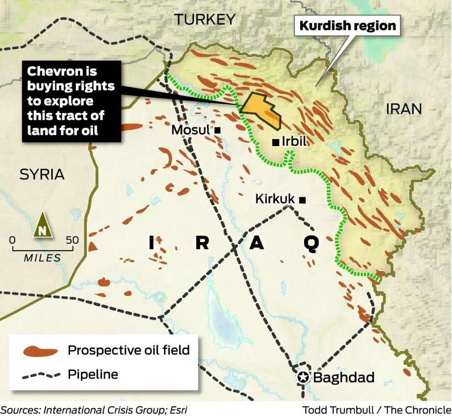 Chevron in risky deal for Kurdistan oil - SFGate