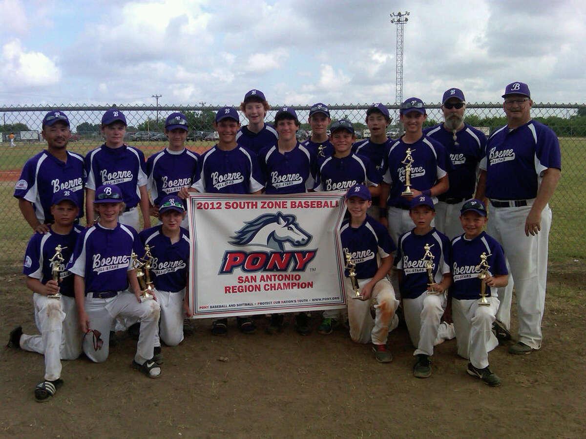 South Texas Stars Boerne Pony All Stars Baseball