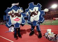 SPORTS    Mascots for Lanier Voks