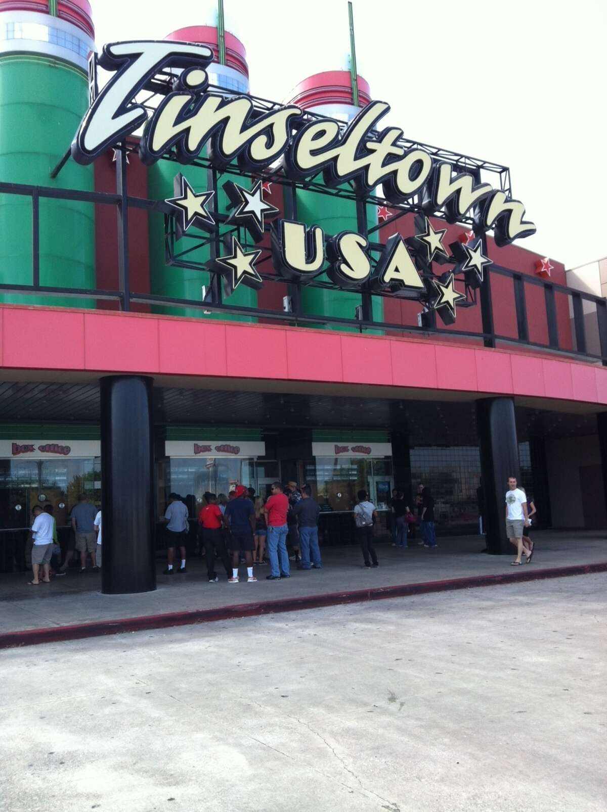 TinseltownThe iconic movie theater was the place to be on a Friday night.