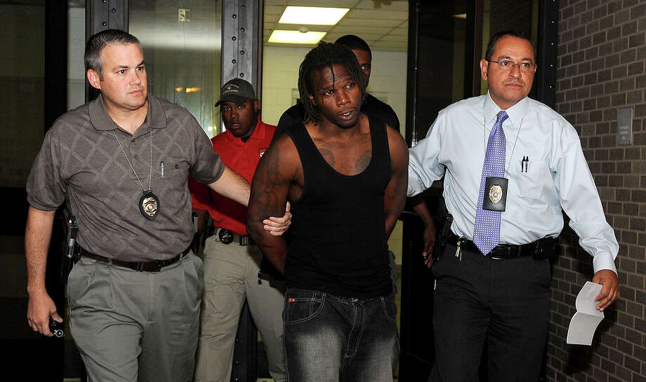 Beaumont Police arrested Duane Lee Washington in connection with the 2003 murder of Ernest Jackson. Washington's arrest stemmed from a Crimestoppers tip and his bond is set at $250,000. Photo taken Monday, July 9, 2012 Guiseppe Barranco/The Enterprise Photo: Guiseppe Barranco, STAFF PHOTOGRAPHER / The Beaumont Enterprise