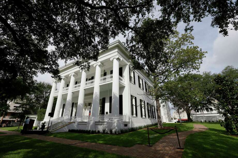 The restored Texas Governor's Mansion is seen Wednesday, July 18, 2012, in Austin, Texas. After four years and a $25 million restoration project, the historic Texas Governor's Mansion that was nearly destroyed by fire is complete. (AP Photo/Eric Gay) Photo: Eric Gay / AP