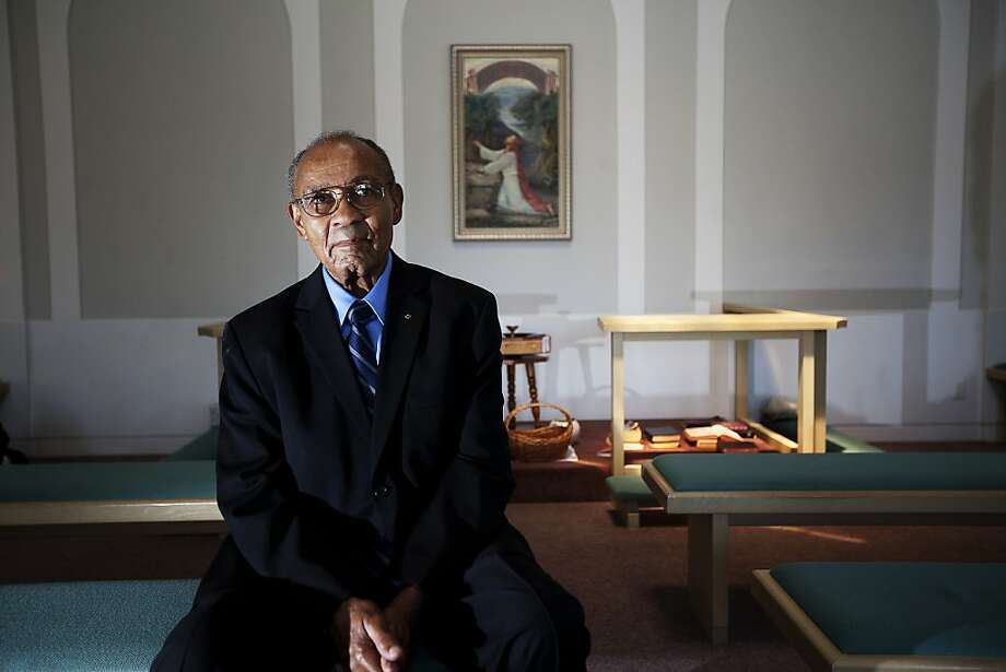 Rev. Wortham Fears was awarded the Congressional Gold Medal. Oakland, Calif. on Thursday, July 19, 2012. Photo: Sonja Och, The Chronicle