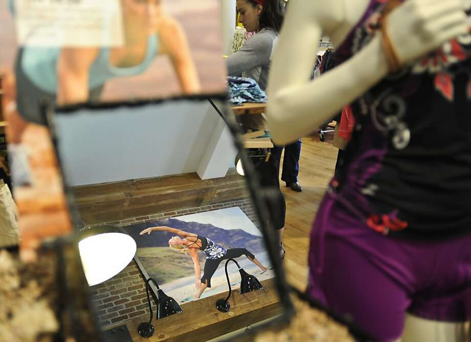 Athleta, bought by Gap Inc. in 2008, has 22 stores and plans to have 50 by the end of next year. Photo: Yue Wu, The Chronicle