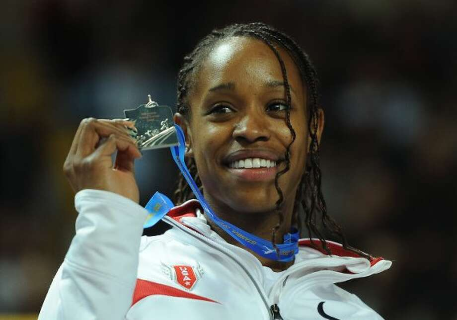 Janay DeLoach| Age: 26 | Sport: track and field (long jump)