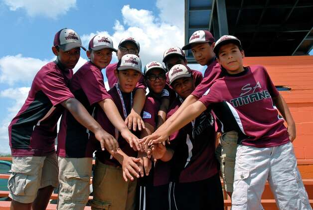 The Normoyle Titans 12U baseball team will be representing San Antonio in the 2012 Pony Baseball Super Regionals in Tampa, Fla. Photo: Jason P. Olivarri/ For The Southside Reporter