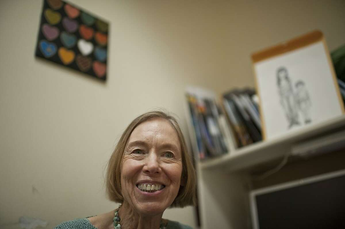 Mary Burge works as a social worker for heart transplant recipients and families since 1970's.
