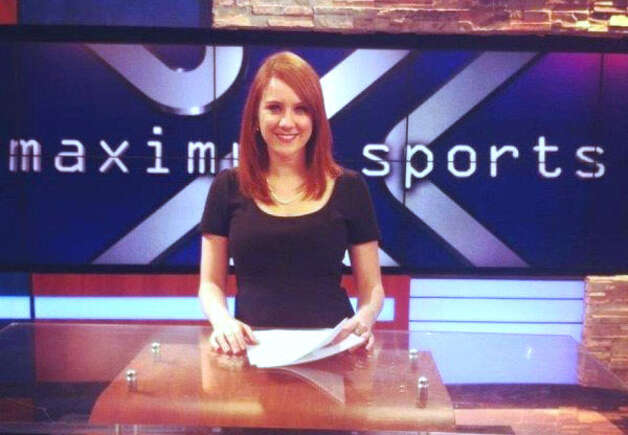 Jessica Ghawi, a sportscaster who went by the name Jessica Redfield, was among the victims and tweeted about going to the movie before the shooting began. She was the girl friend of former Danbury Whalers player Jay Meloff. Photo: Contributed