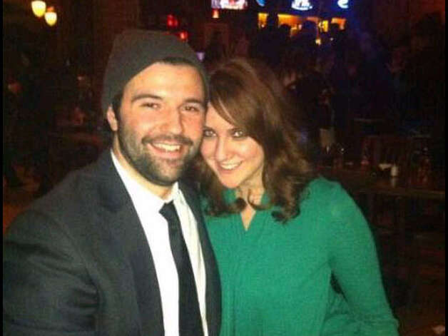Jay Meloff and Jessica Ghawi in this undated photo that Meloff posted on Twitter. Photo: Contributed Photo