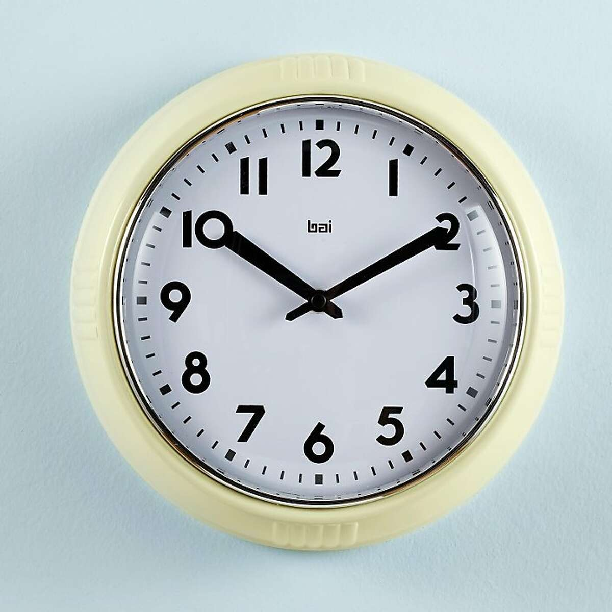 Rock Around the Schoolhouse Clock, $29, from Land of Nod.