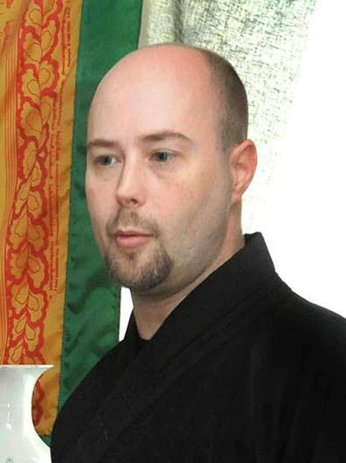 Michael Duffy/staff photographer. Ven. Ocean-of-Wisdom Sakya - Forum on Faith Photo: Michael Duffy, ST