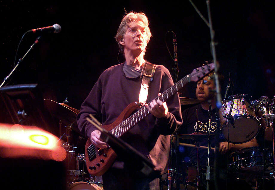 Phil Lesh of Phil Lesh and Friends performs at the Gathering of the Vibes concert at Seaside Park in Bridgeport, Conn. on Friday July 20, 2012. Photo: Christian Abraham / Connecticut Post freelance