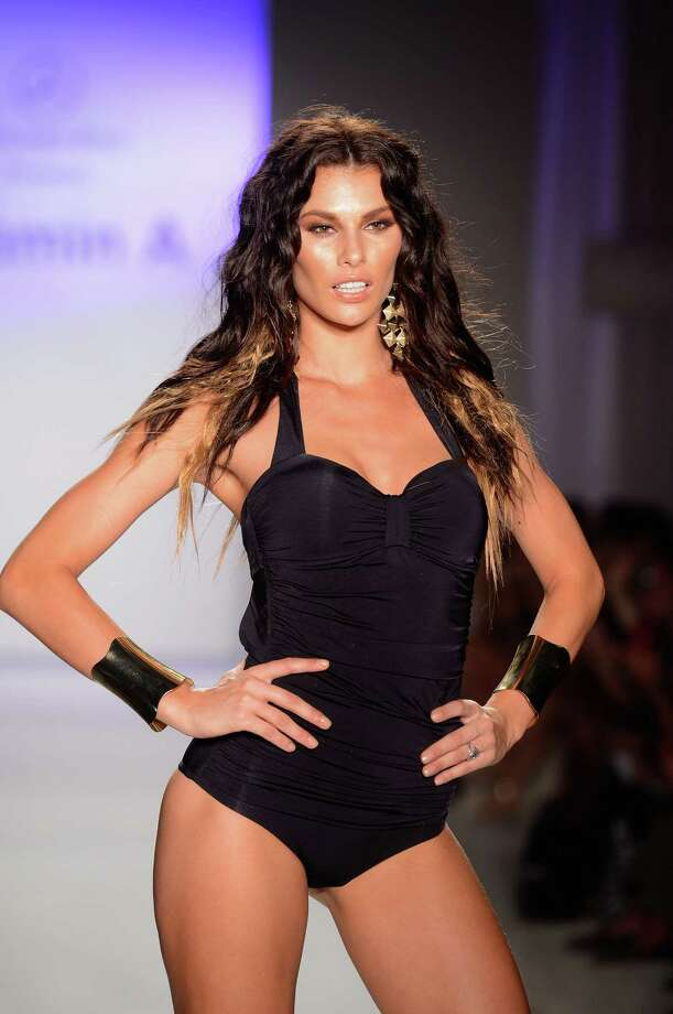 A model walks the runway at the Vitamin A by Amahlia Stevens show. Photo: Frazer Harrison, Getty Images For Vitamin A By Amahlia Stevens / 2012 Getty Images
