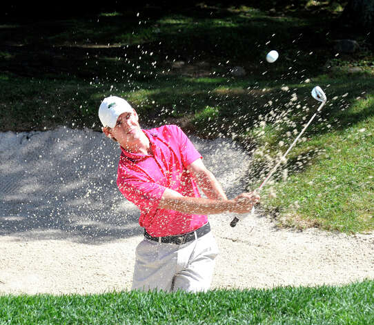 James Smith plays in the 22nd Annual Danbury Amateur golf championship at Richter Park Golf Course Saturday, July 21, 2012. Photo: Michael Duffy / The News-Times
