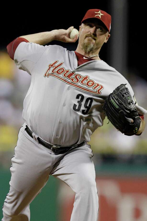 The Astros traded reliever Brett Myers (above) to the Chicago White Sox on Saturday for left-hander Blair Walters, right-hander Matt Heidenreich and a player to be named. Photo: Gene J. Puskar, Associated Press