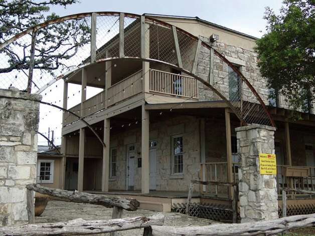 Located near Rudy's Country Store and Bar-B-Q on the outskirts of San Antonio, the Aue Stagecoach Inn was owned by German immigrant Max Aue, one of the founding fathers of Leon Springs. The two-story stone building, now owned by Rudy's, sat in a prime location on a stagecoach line between San Antonio and San Diego. July 16, 2012. Read More Photo: Billy Calzada, San Antonio Express-News / © 2012 San Antonio Express-News
