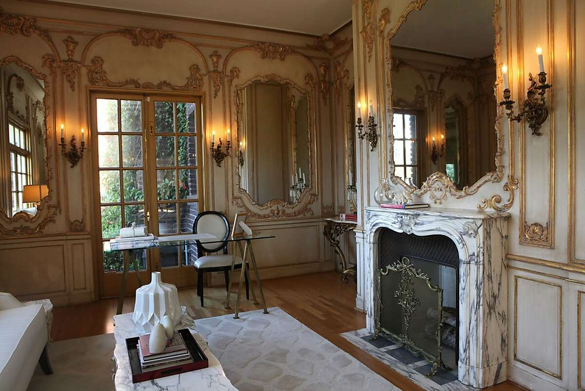The Versailles room at Herbst Manor in San Francisco, Calif., on Friday, July 20, 2012.