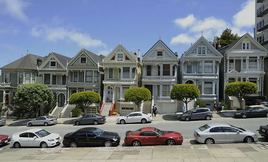 Outside at 710 Steiner, one of the famous painted ladies, is photographed on Thursday, July 19, 2012 in San Francisco, Calif. Photo: Yue Wu, The Chronicle