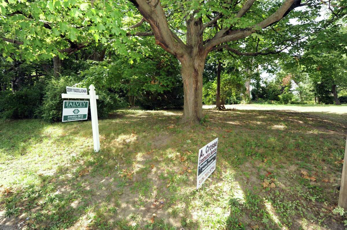 Vacant lot at 44 Shepard Avenue Colonie NY Thursday July 19, 2012. (Michael P. Farrell/Times Union)