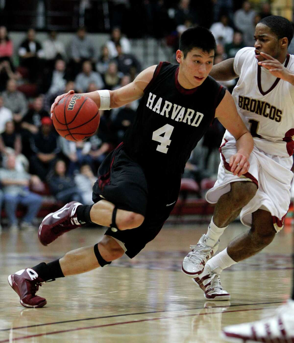 Before Jeremy Lin got his first pro contract, with the Golden State Warriors, ran the offense for the Harvard Crimson.