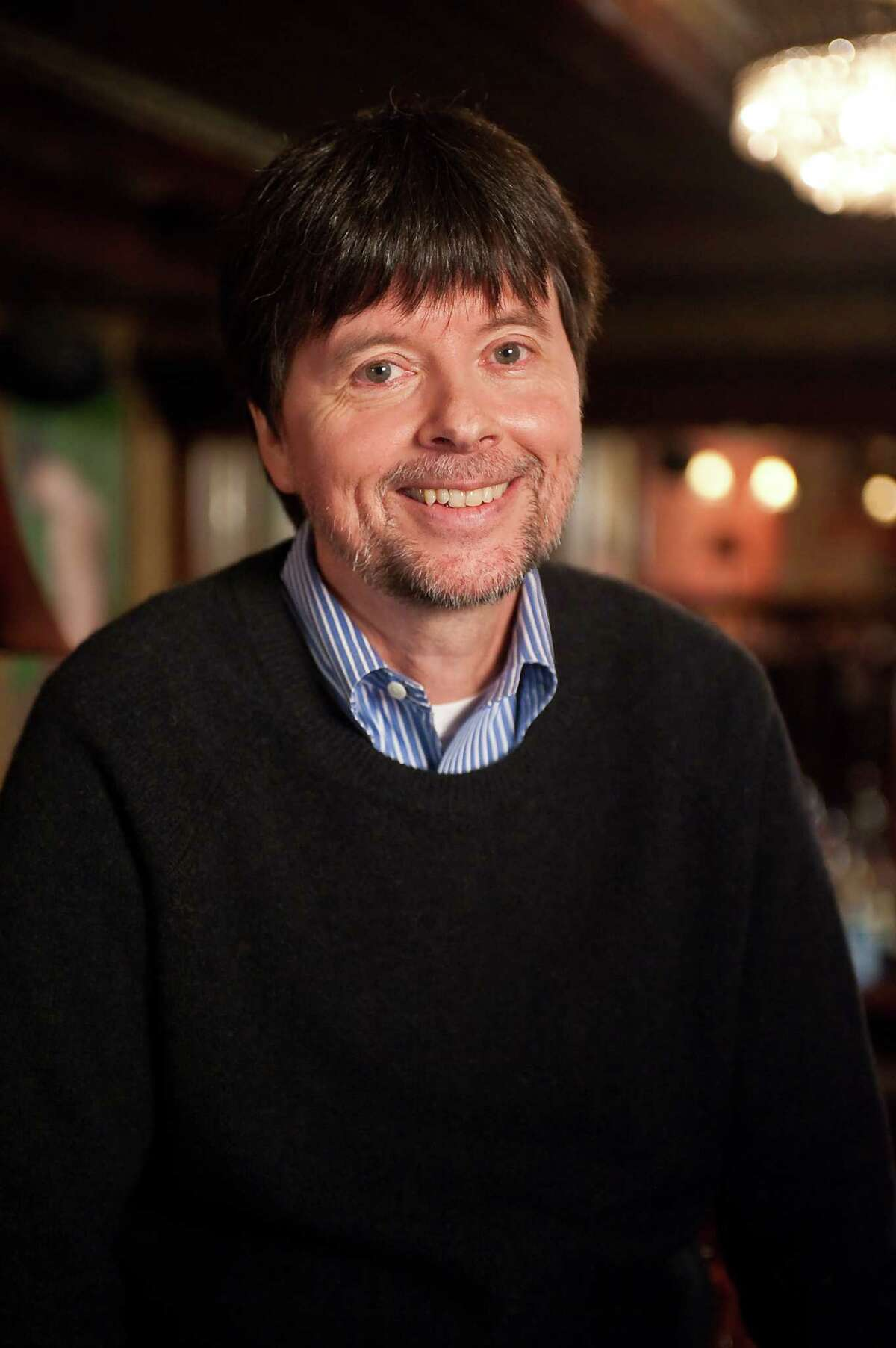 Photos of Ken Burns and Lynn Novick for their new documentary on Prohibition to be shown on PBS, taken on October 28, 2010. Credit: Stephanie Berger