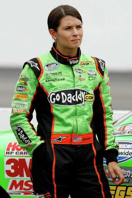 Danica Patrick waits during qualifying for the NASCAR Nationwide Series auto race at New Hampshire Motor Speedway, Saturday, July 14, 2012, in Loudon, N.H. (AP Photo/Autostock, Matthew T. Thacker) MANDATORY CREDIT Photo: Matthew T. Thacker / AP2012