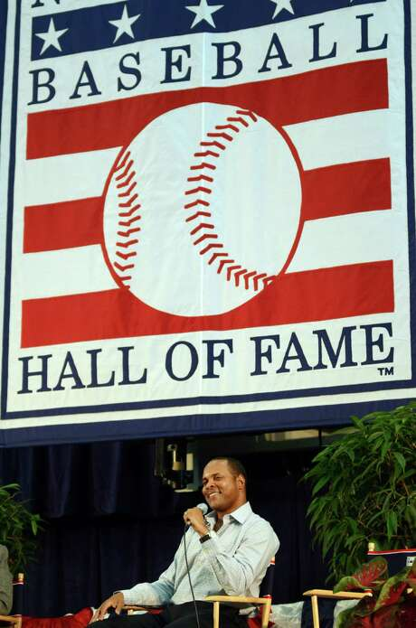 The National Baseball Hall of Fame will induct Barry Larkin into its ranks Sunday in Cooperstown, N.Y. The late Ron Santo, receiving a posthumous induction, will be the other honoree. Photo: Heather Ainsworth / FR120665 AP