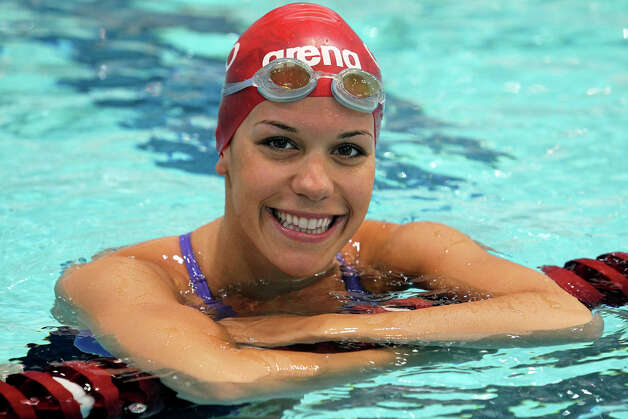 Kim Pavlin: Swimming, 200 backstroke and 200 individual medley, Croatia Photo: TOM REEL, San Antonio Express-News / ©2012 San Antono Express-News