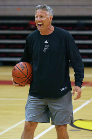 Brett Brown: Basketball, Australia (coach) Photo: TOM REEL, San Antonio Express-News / treel@express-news.net