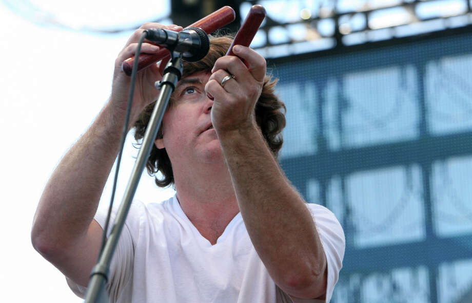 Keller Williams plays at the Gathering of the Vibes at Seaside Park in Bridgeport, Conn. Sunday, July 22, 2012. Photo: BK Angeletti, B.K. Angeletti / Connecticut Post freelance B.K. Angeletti