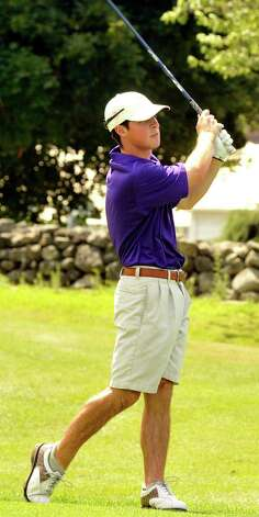 Nick Taylor plays in the 22nd Annual Danbury Amateur golf championship at Richter Park Golf Course Sunday, July 22, 2012. Photo: Michael Duffy