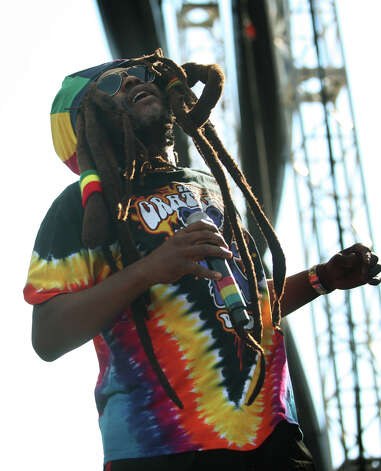 David Hinds, lead singer of reggae band Steel Pulse, performs on the main stage at the Gathering of the Vibes in Bridgeport on Sunday, July 22, 2012. Photo: Brian A. Pounds / Connecticut Post freelance