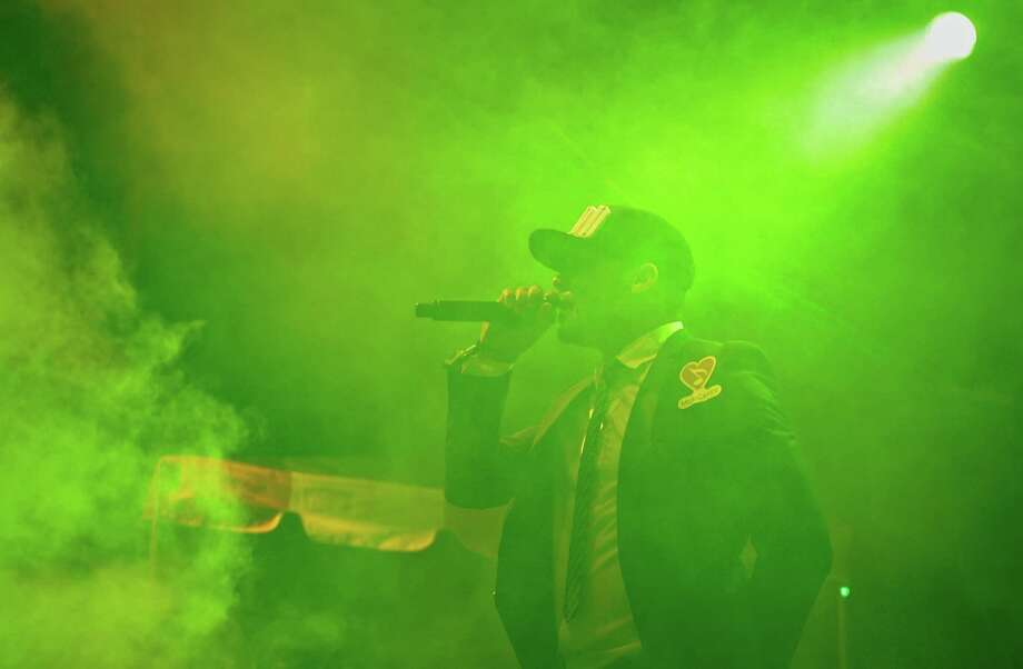 Major Lazer performs. Photo: LINDSEY WASSON / SEATTLEPI.COM