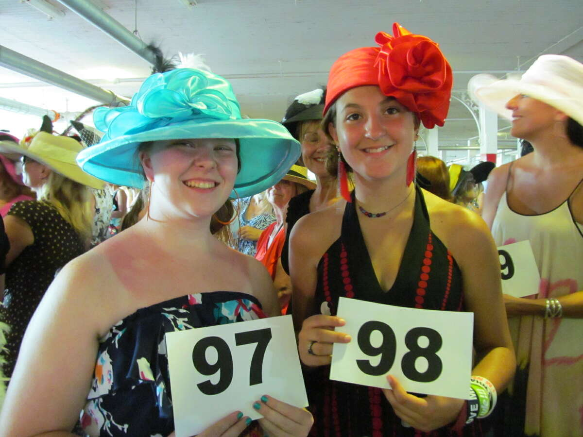 Were you Seen at the 21st annual Hat Contest at the Saratoga Race Course on Sunday, July 22, 2012?