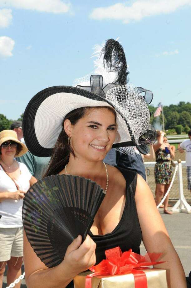 Were you Seen at the 21st annual Hat Contest at the Saratoga Race Course on Sunday, July 22, 2012? Photo: (Times Union)