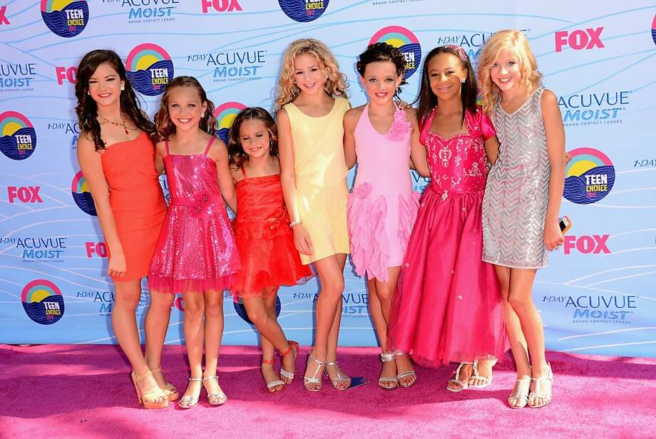 "UNIVERSAL CITY, CA - JULY 22:  The stars of ""Dance Moms"" arrive at the 2012 Teen Choice Awards at Gibson Amphitheatre on July 22, 2012 in Universal City, California.  (Photo by Jason Merritt/Getty Images) Photo: Jason Merritt, Getty Images"