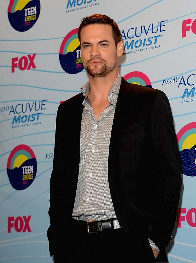 UNIVERSAL CITY, CA - JULY 22:  Actor Shane West poses in the press room during the 2012 Teen Choice Awards at Gibson Amphitheatre on July 22, 2012 in Universal City, California.  (Photo by Jason Merritt/Getty Images) Photo: Jason Merritt, Getty Images