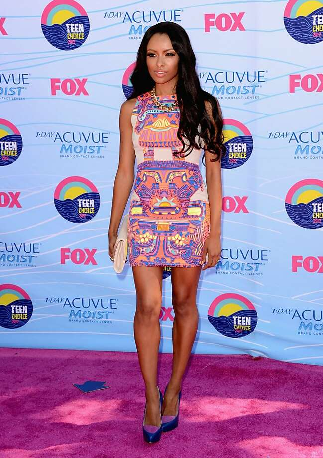 UNIVERSAL CITY, CA - JULY 22:  Actress Kat Graham arrives at the 2012 Teen Choice Awards at Gibson Amphitheatre on July 22, 2012 in Universal City, California.  (Photo by Jason Merritt/Getty Images) Photo: Jason Merritt, Getty Images