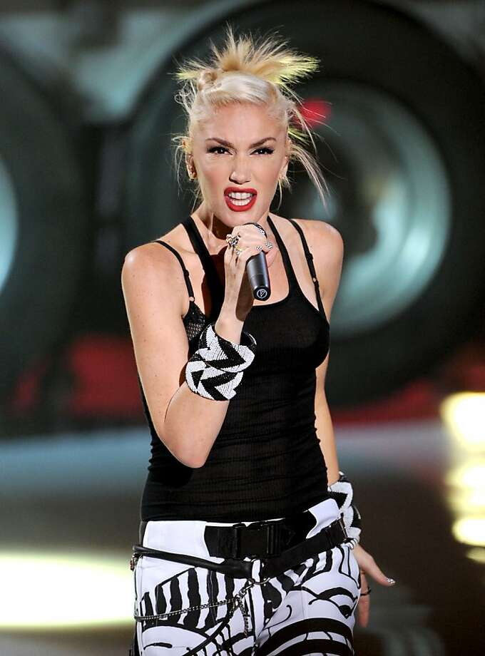 "UNIVERSAL CITY, CA - JULY 22:  Singer Gwen Stefani of ""No Doubt"" performs onstage during the 2012 Teen Choice Awards at Gibson Amphitheatre on July 22, 2012 in Universal City, California.  (Photo by Kevin Winter/Getty Images) Photo: Kevin Winter, Getty Images"