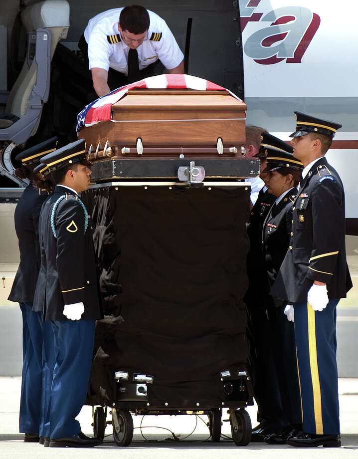 The amendment authorizes 100 percent property tax exemptions for spouses of service members killed in action. It passed by nearly 87 percent.Source: Texas Secretary of State Photo: Chieko Hara, Associated Press / the Porterville Recorder