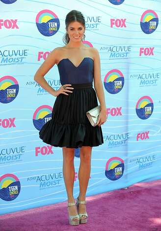 Nikki Reed arrives at the Teen Choice Awards on Sunday, July 22, 2012, in Universal City, Calif. (Photo by Jordan Strauss/Invision/AP) Photo: Jordan Strauss, Associated Press