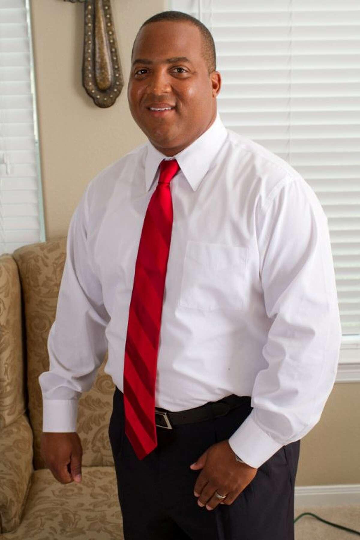 Zerick Guinn, Democratic candidate for Harris County Precinct 2 Constable.