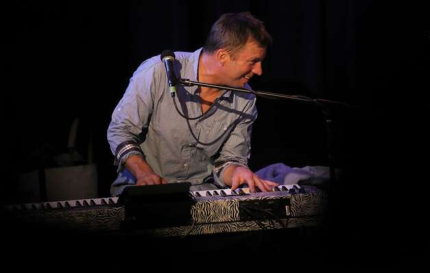 "Tim Hockenberry and his band play the Throckmorton Theater in  Mill Valley, Ca., on Saturday July 21 2012. Tim Hockenberry a Mill Valley singer-songwriter is a breakout star on this season's, ""America's Got Talent"", on NBC, edging closer to the $1 million prize. Photo: Michael Macor, The Chronicle"